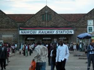 Bahnhof von Nairobi