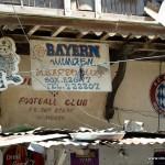 Das war überraschend - ein FCB Fanclub mitten in Mombasa