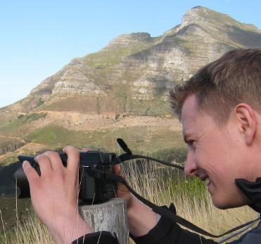 Ich beim Fotografieren (2009)