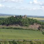 Blick von der Mühlburg auf die Wanderslebener Gleiche