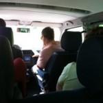 Transalp 2011 | Foto im Reisebus