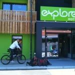 Transalp 2011 | Explorer Hotel Oberstdorf - Eingangsbereich