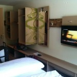 Transalp 2011 | Explorer Hotel Oberstdorf - das Zimmer (1)