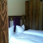 Transalp 2011 | Explorer Hotel Oberstdorf - das Bett