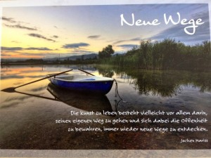 Neue Wege - Jochen Mariss (Aphorismen)