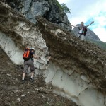 Oberstdorf 2012: der Weg war gut bearbeitet