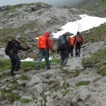 Oberstdorf 2012: viel Motivation noch zu Beginn der Tour