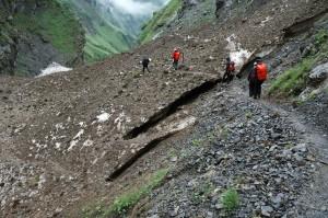 Oberstdorf 2012: Abstieg über Altschnee