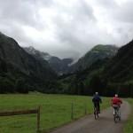 Oberstdorf 2012: Rückblick aus dem Tal in Richtung Berg