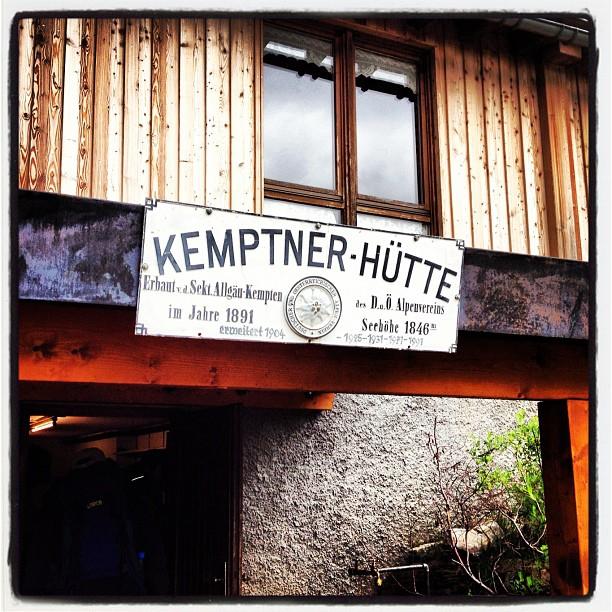 Kemptner Hütte, Oberstdorf