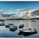 Hafen in Falmouth