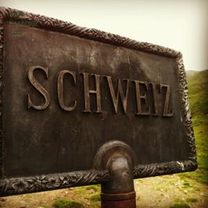 von Ischlg zur Heidelberger Hütte - Schweiz betreten