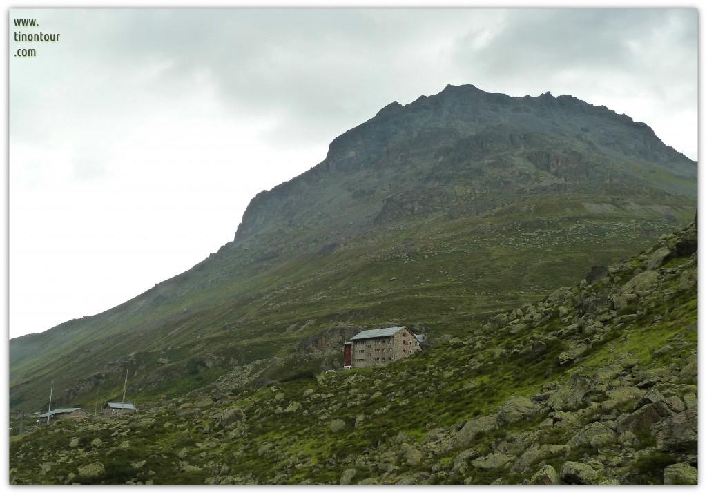Rückblick auf die Jamtalhütte (Nähe Galtür)