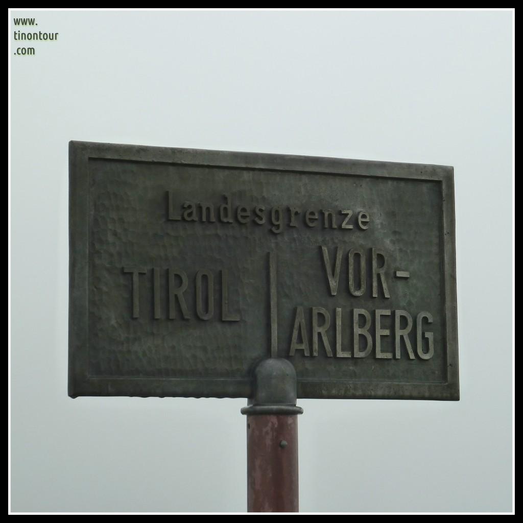 Landesgrenze Tirol / Vorarlberg