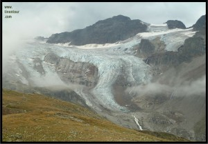 Gletscher am Piz Buin