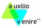 auxilio venire e.V. (Logo)