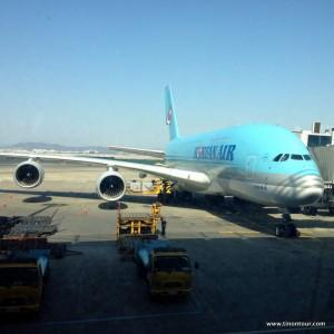 Der A380 von Korea Air ... ein tolles Flugzeug