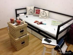 Sozialraum im Hostel
