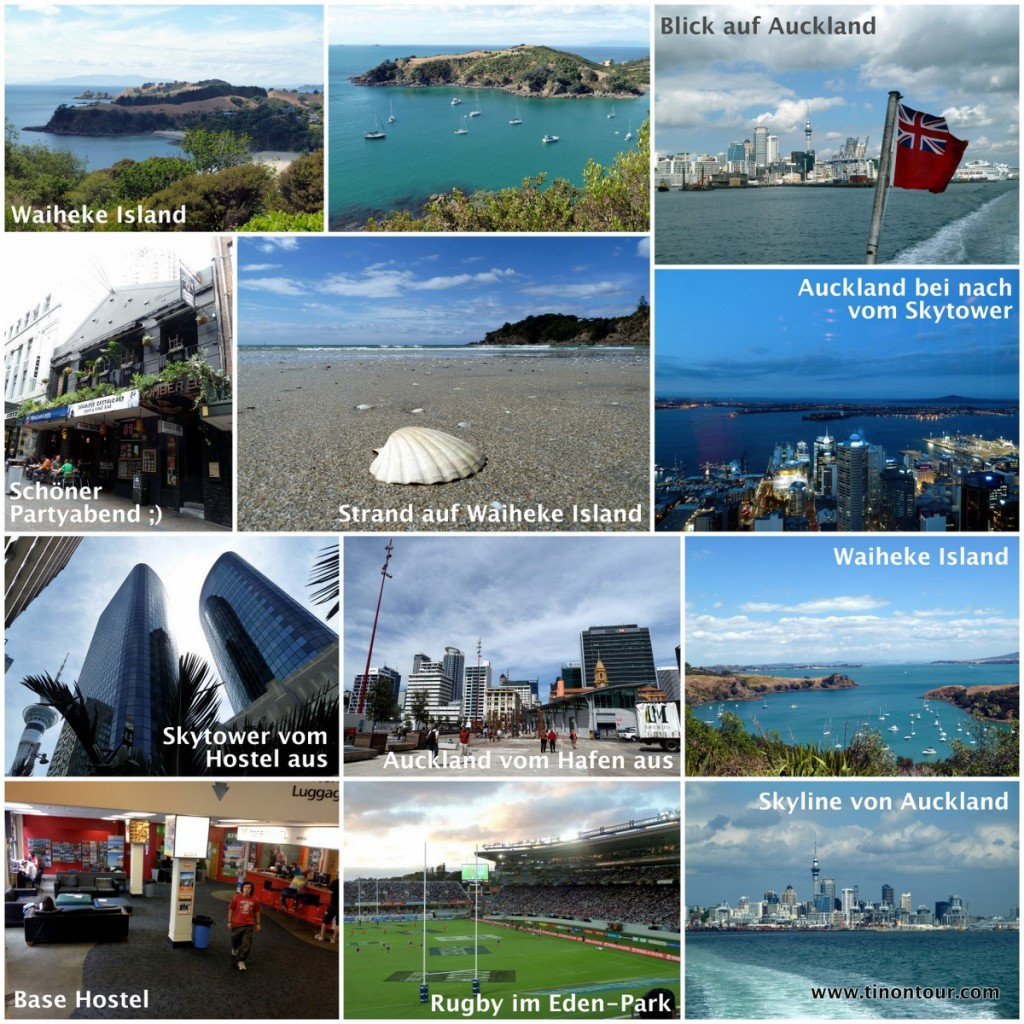 Collage von Auckland