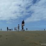 Tino jump am Beach