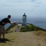 Leuchtturm am Cape Reinga
