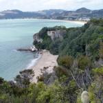 Lonely Bay und Cooky Bay vom Shakespeare's Lookout aus fotografiert