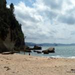 Die Idee für eine Fotosession hatten am Lonely Bay neben mir noch welche ... aber überfüllt war es keinesfalls