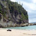 Meine Badeschlappen einsam und verlassen am Lonely Bay