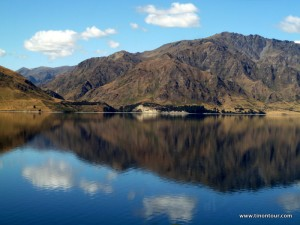 See auf dem Weg nach Wanaka (Lake Hawea)