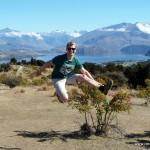Jump near Lake Wanaka