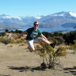Jump near Lake Wanaka