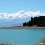 See auf dem Weg zum Lake Tekapo / Mt. Cook