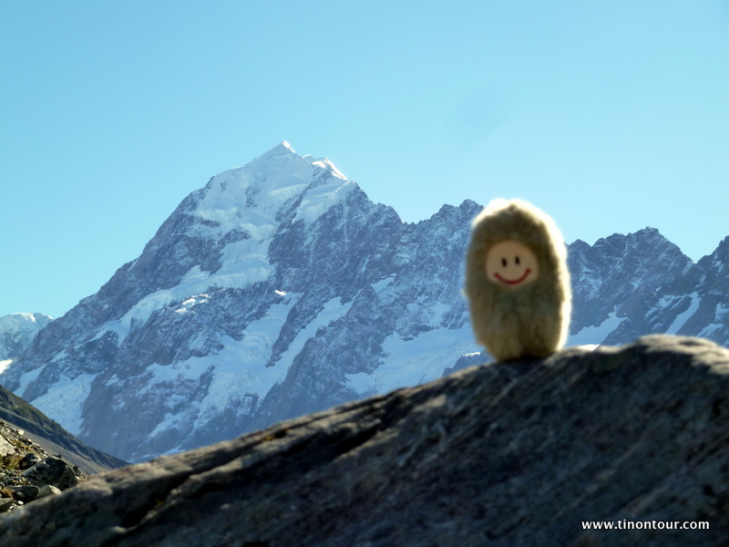 Puffbohne meets Mt. Cook