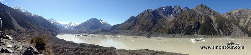 weiterer Gletschersee am Mt. Cook