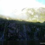 Milford Sound: Wasserfälle