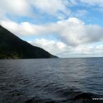 Ende (oder Anfang) vom Milford Sound zum offenen Meer hin