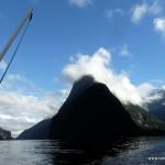 Noch mal Blick zurück (Milford Sound)