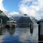 Jucy Cruize - unser Schiff für die Bootstour im Milford Sound