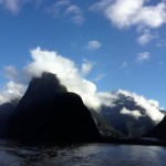 Panoramabild vom Milford Sound