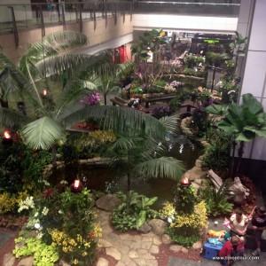 Flughafen Singapur: Botanischer Garten