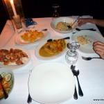 Abendessen im Resort bei El Nido