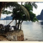 Essbereich im Dolarog Resort (El Nido, Palawan / Philippinnen)
