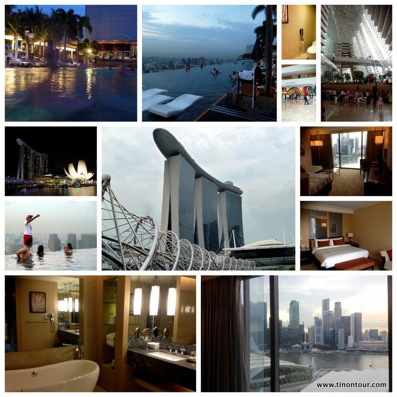Kleine Bildersammlung vom Marina Bay Sands in Singapur und meinem Ausflug zum Infinity-Pool auf dem Skydeck (Hoteldach)