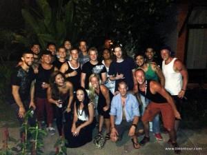 Auf geht es mit der Tiger-Familie zu einem tollen Party-Abend in Patong