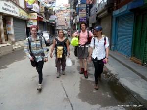 Auf ging es sehr früh von Kathmandu nach Pokhara