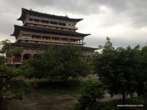 Der Koreanische Tempel im Relegionspark in Lumbini