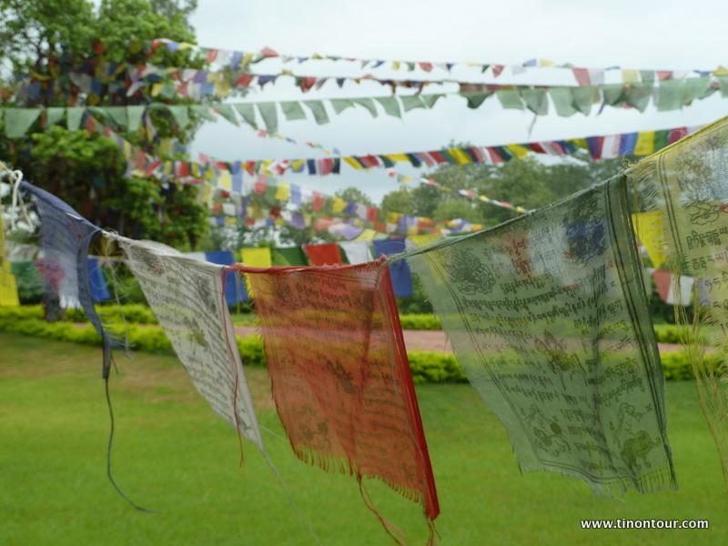 Park / Garten rund um die Geburtsstelle von Buddha