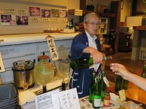 Sake Brauerein und Ihre Museen und gratis Verkostungen - nimmt man alle davon mit, hat man einen lustigen Nachmittag ...