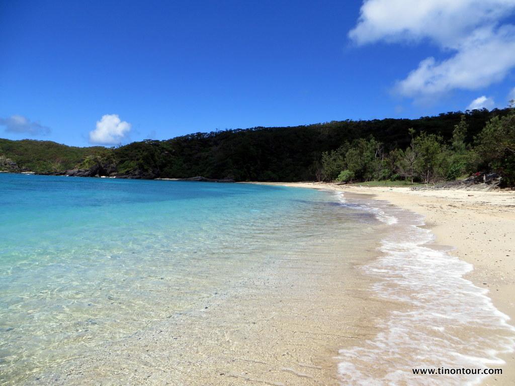 """Der """"Secret Beach"""" auf der Insel Aka (Kerama Inselgruppe in der Präfektur Okinawa; Japan)"""