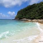 Der Hizushi Beach - nur wenige Minuten zu Fuß vom Hafen bzw. Dorf entfernt ... klein, aber ein Platz wo man einen Tag lang die Seele baumeln lassen kann.